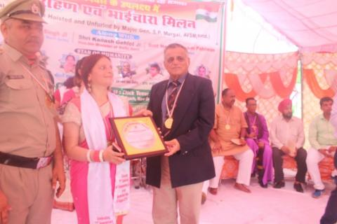 Star of Humanity Award to Ms. Minal Singhvi